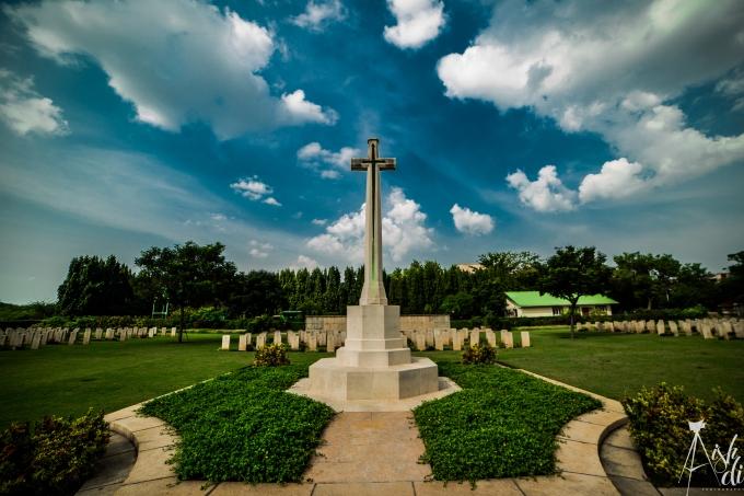 Madras War Cemetry. Tribute to bravest.