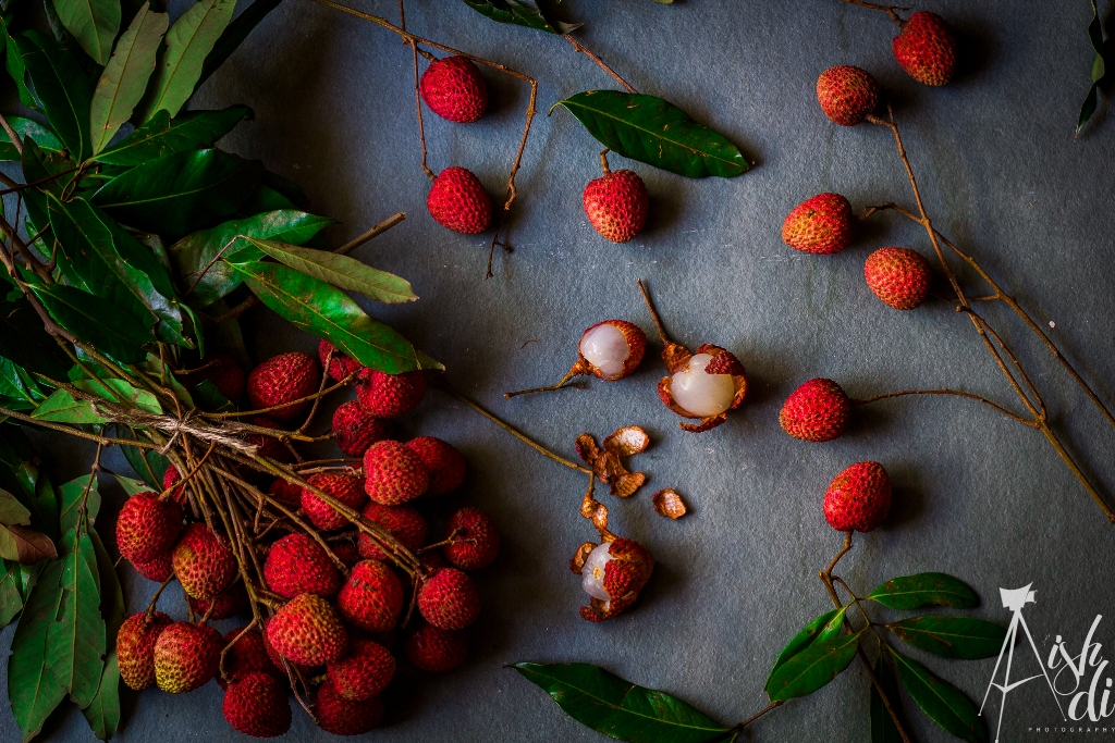 Lychee Fruit Photography